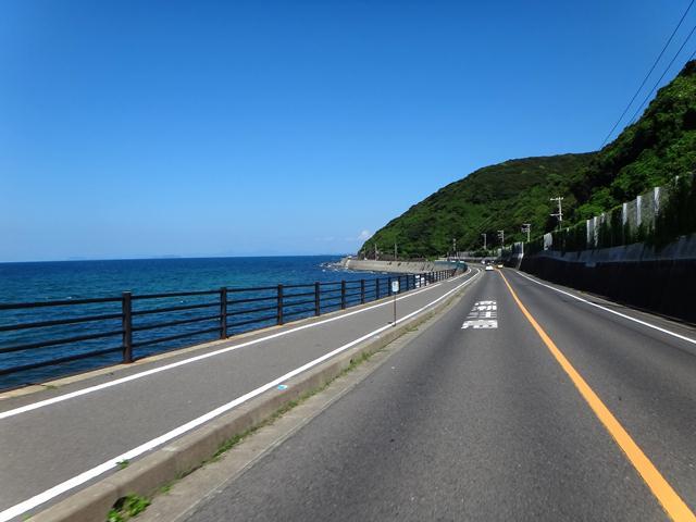 19 定番の海沿いコース.JPG