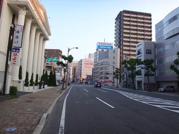 1 もう道を覚えた静岡市街地.JPG
