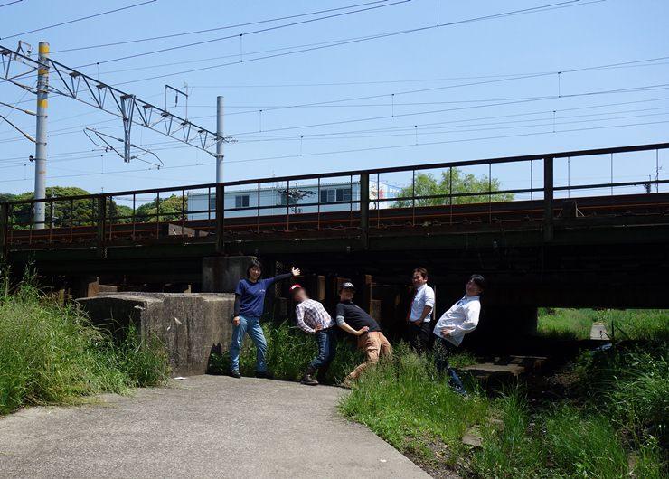 23 リンボー橋でリンボー.JPG